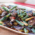 Tangerine Beef Stir Fry With Green Beans And Sweet Red Peppers Recipe