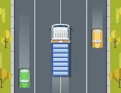 Hızlı Kamyon Trafikte - Truck Traffic