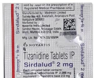 Tizanidine Tablets