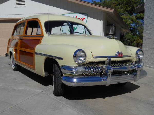 1951 Mercury Woodie Station Wagon