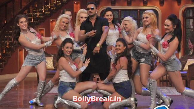 Honey Singh on Comedy Nights With Kapil, Honey Singh on Comedy Nights With Kapil