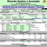 Programa en Excel para calcular vacaciones Fraccionadas en el sector construcción