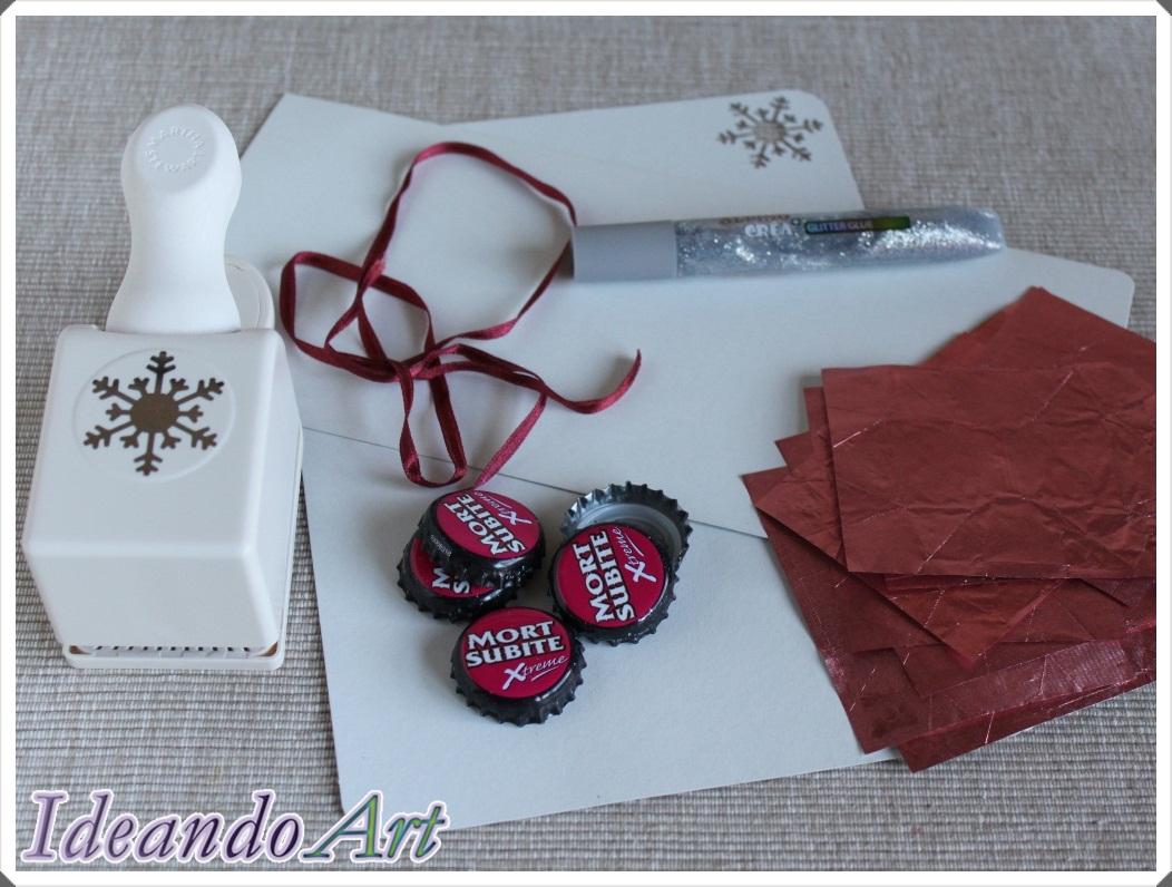 Materiales guirnalda DIY