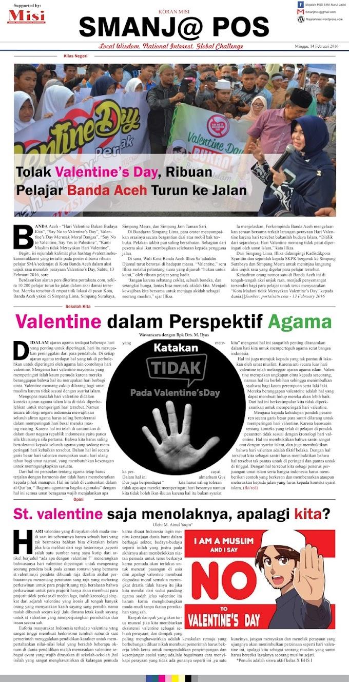 Contoh Lay out koran Halaman