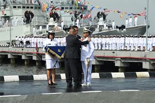 KRI Raden Eddy Martadinata-331  -  Kapal Perusak Kawal Rudal (PKR) TNI AL