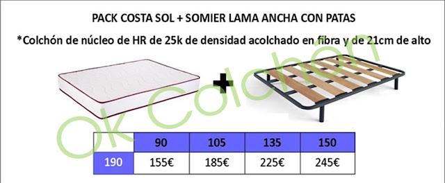 Pack Ahorro Colchón hr + Somier