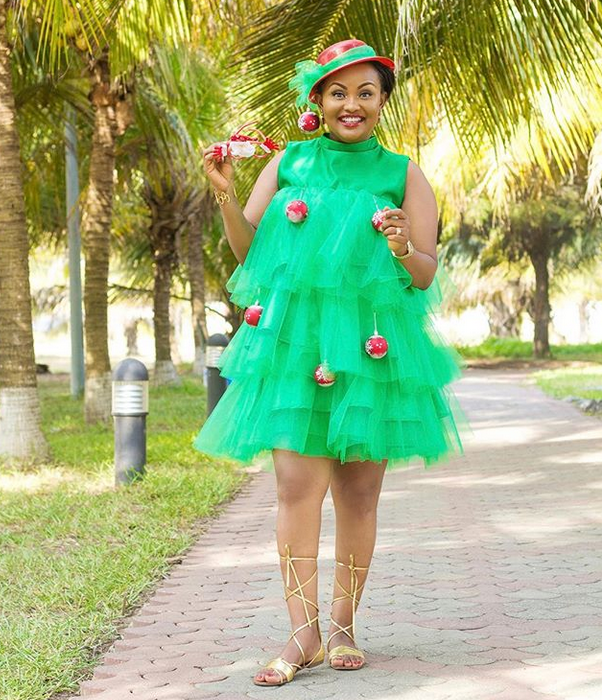 Nana Ama McBrown Makes Us Wish Christmas Came Sooner [PHOTO]