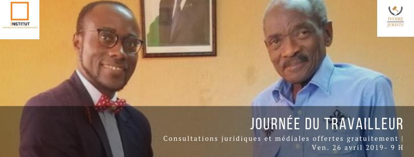 Exclusif : Des séances de consultations juridiques gratuites offertes par la Fondation IHPD le 26/04/2019