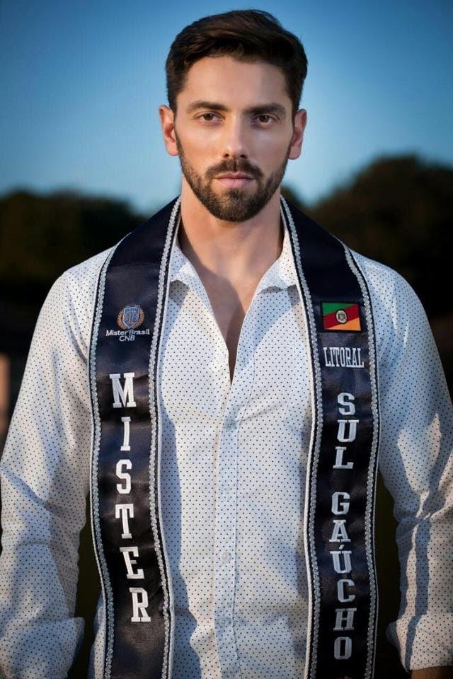 Gil Raupp, Mister Litoral Sul Gaúcho 2018. Foto: Wellington Costa/Anderson Natio - Divulgação