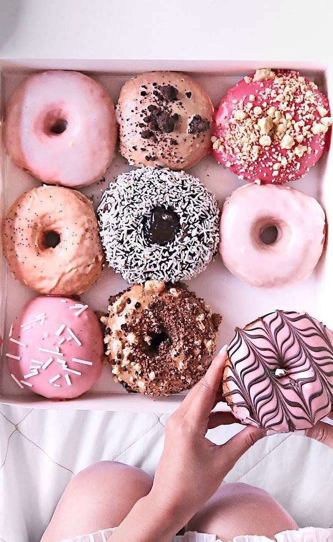 very delicious donuts