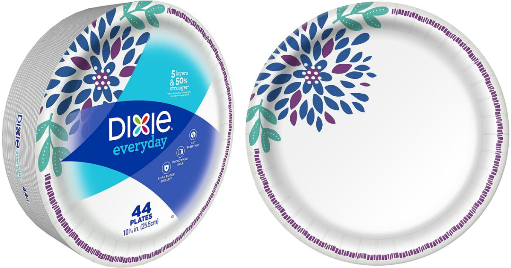 Steward of Savings : $0 75/1 Dixie Paper Plates Coupon! ONLY