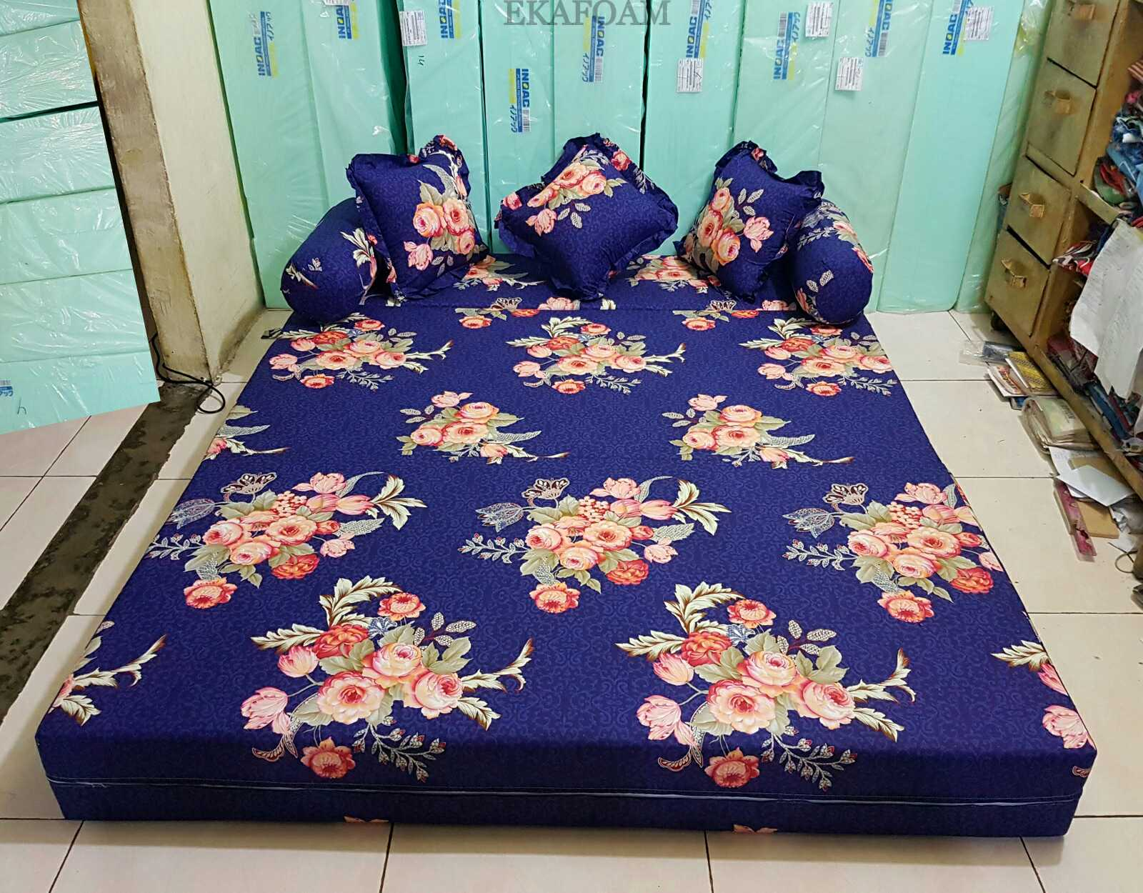 Sofa Bed Inoac 3 In 1 2 Seater Beds 2018 Full Motif Agen Resmi Kasur Busa