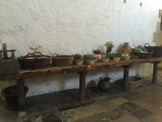Hampton Court Palace Henry III kitchen produce