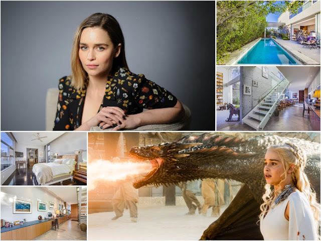 "A Tour Inside The House Of Emilia Clarke ""The Hero Of Game Of Thrones"""