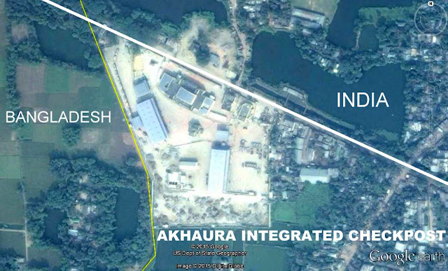 Image Attribute:  ICP at Akhaura Border, Tripura (Near Bangladesh)  commissioned on Nov 17, 2013