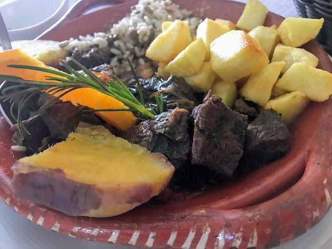 Santa Catarina y el restaurante O Constantino