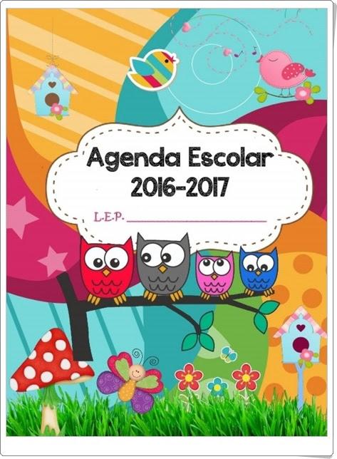 """""""Agenda Escolar 2016-17"""""""