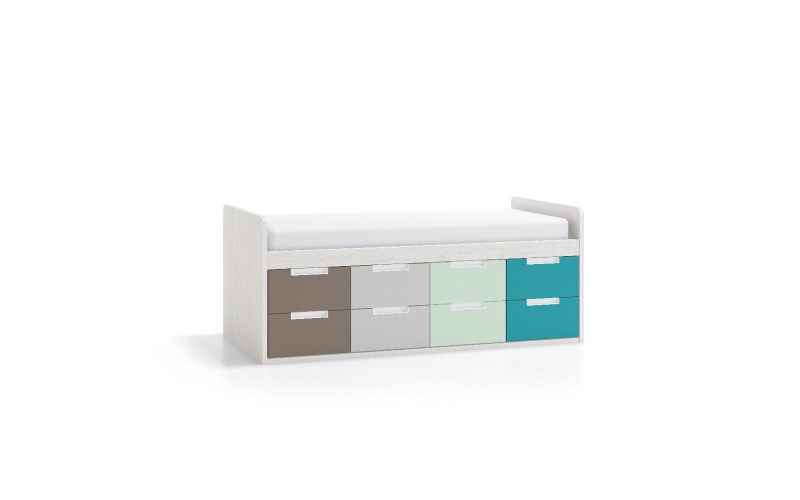 Cama Compacta 8co Fm1920 Muebles Dormitorios Juveniles