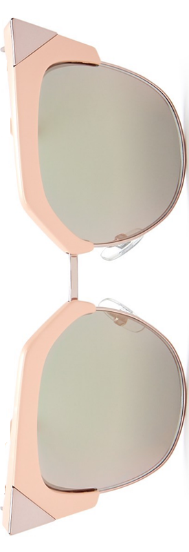 Fendi Iridia Mirrored Cat Eye Sunglasses, 54mm