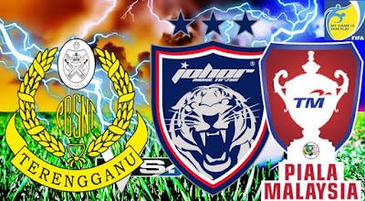 Live Streaming JDT FC vs Terengganu Piala Malaysia 1 Ogos 2017
