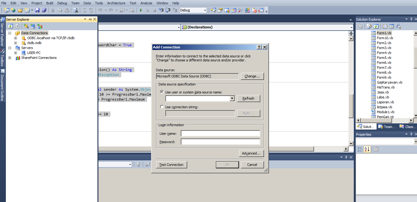 HowTo - Create Login Form Using Visual Basic 2010