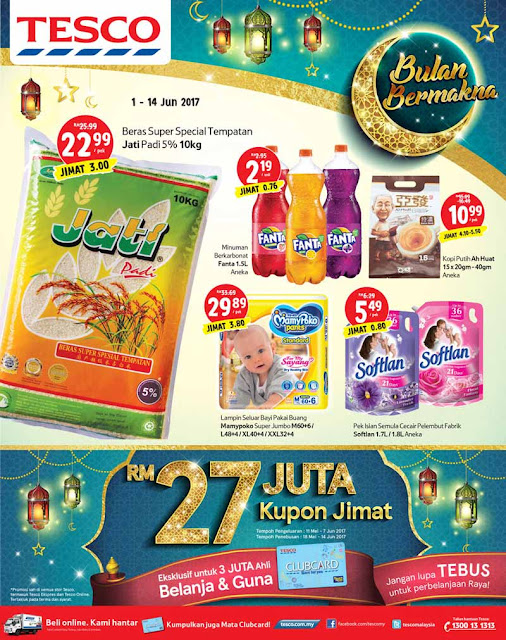 Tesco Malaysia Catalogue Bulan Bermakna Ramadan Raya Discount Offer Promotion