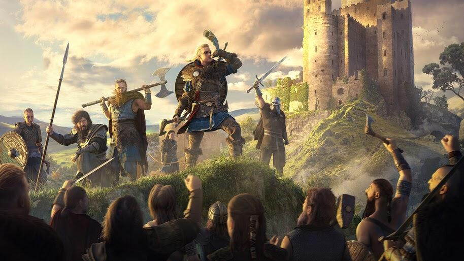 Assassins Creed Valhalla, Eivor, Viking, Raid, 8K, #7.2245