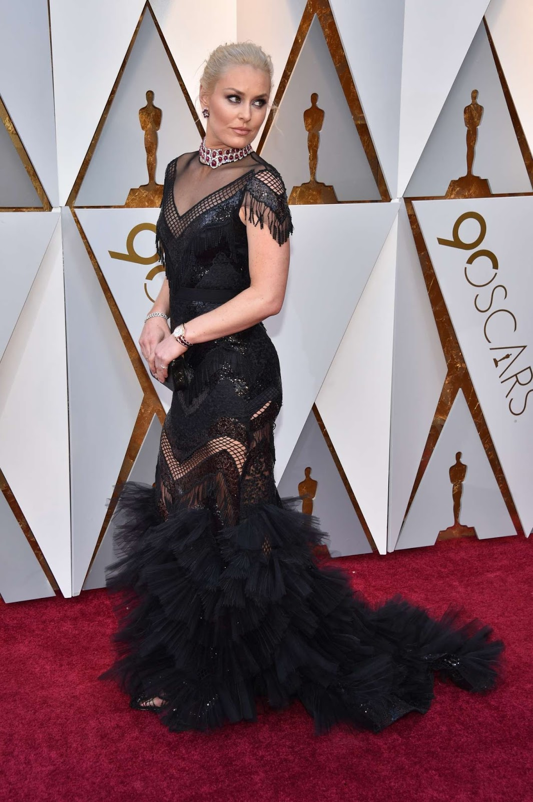 Lindsey Vonn – 2018 Academy Awards in Los Angeles