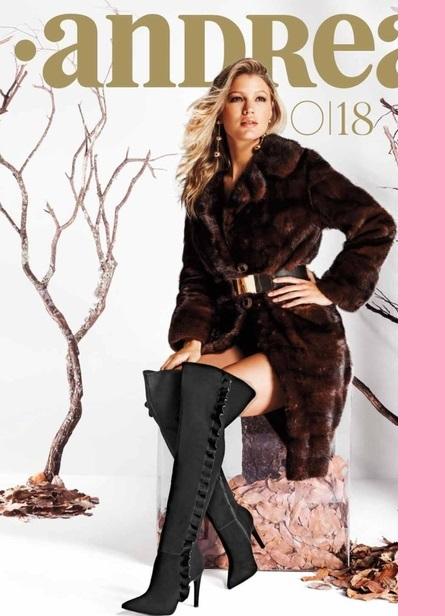 Andrea calzado catalogo Otoño invierno 2018