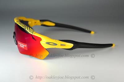 oo9208-6938 Radar EV Tour de France yellow + prizm road  295 lens pre  coated with Oakley hydrophobic nano solution complete set comes with vault,  . 8cf119b0af