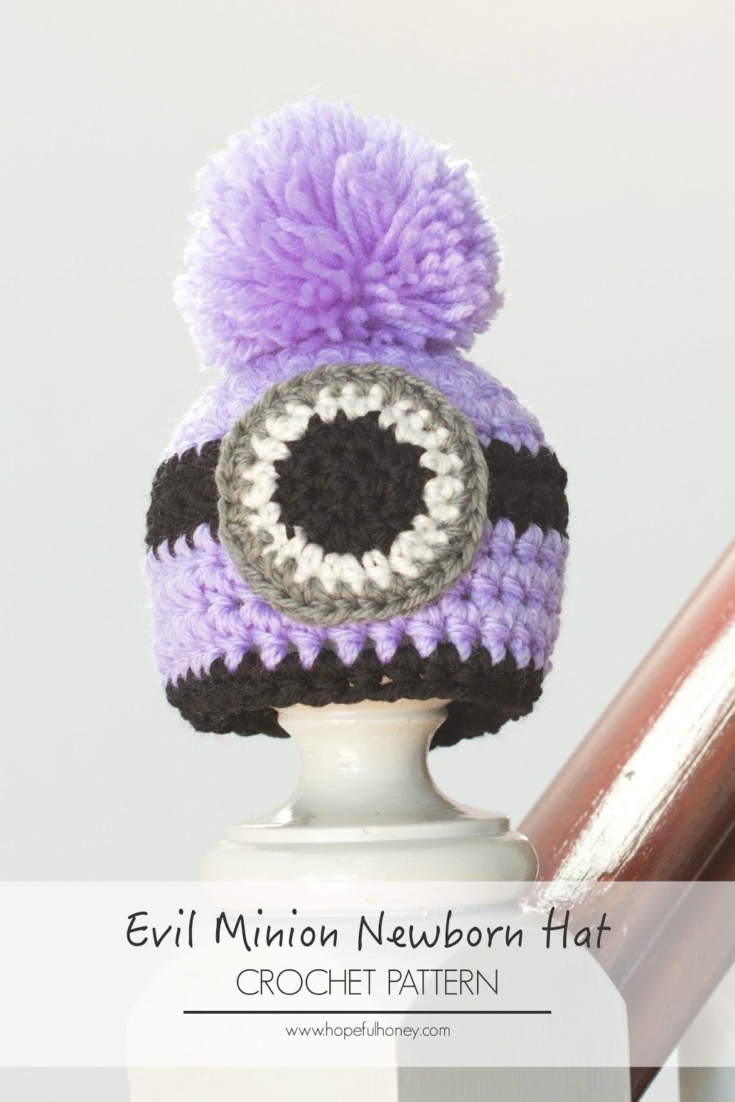 Despicable Me Crochet Hat Pattern