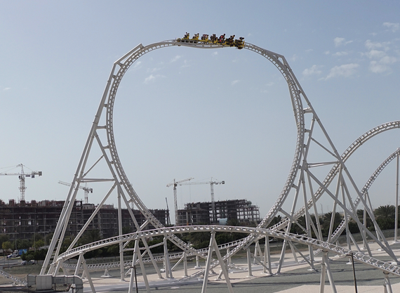 Newsplusnotes Intamins New Flying Aces Roller Coaster Now Open At
