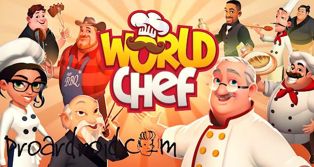لعبة World Chef Apk v1.37.1 مهكرة كاملة للاندرويد (اخر اصدار) logo