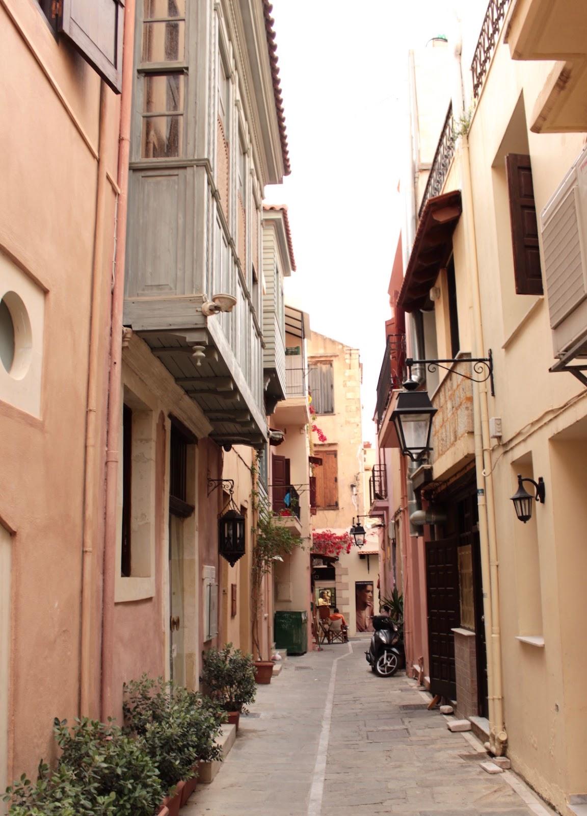 Rethymno Altstadt Kreta Old Town osmanischer Erker