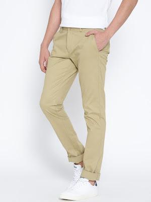 Haki renk pantolon kombin