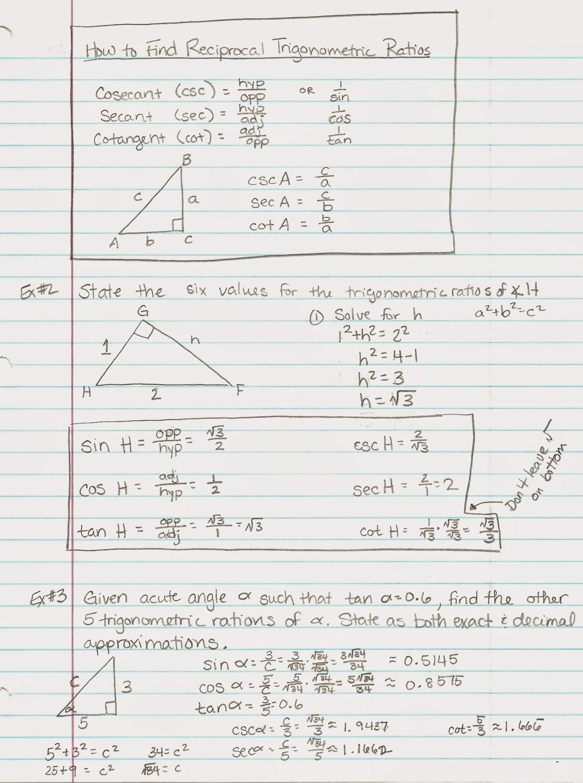 2 Trig Stunning Algebra Trig Free Ebook Download