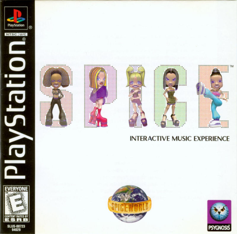 Spice World   - PS1 - ISOs Download