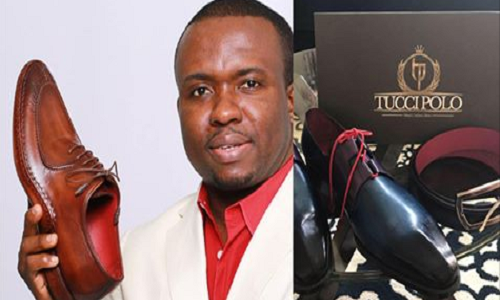 Photos: Meet Nigerian Man Tochukwu Mbiamnozie Owner Of Luxury Shoe Designers TucciPolo