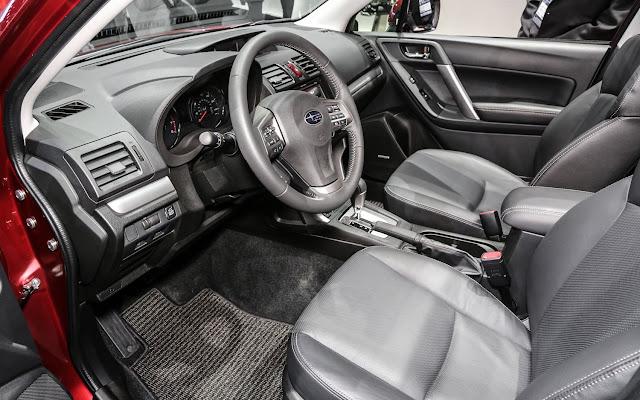 2014 Subaru Forester US Version Front Interior