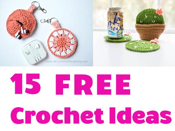15 Best Crochet Ideas - Free Patterns