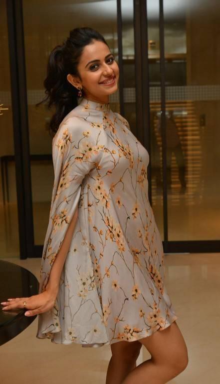 Actress Rakul Preet Singh Thigh Stills