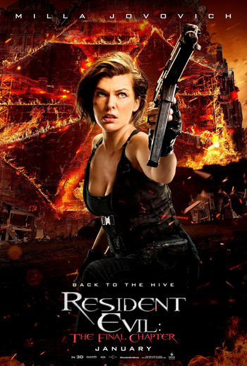 Resident Evil 6: The Final Chapter อวสานผีชีวะ