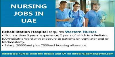 NURSING JOBS IN UAE-APPLY NOW
