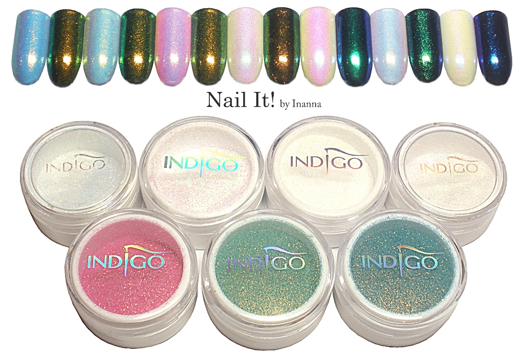 Mermaid Effect (Efekt Syrenki) by Indigo Nails -  COMPENDIUM swatches and comparisons of all shades