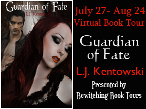 Blog Tour: Guardian of Fate by L.J. Kentowski *Promo Stop*