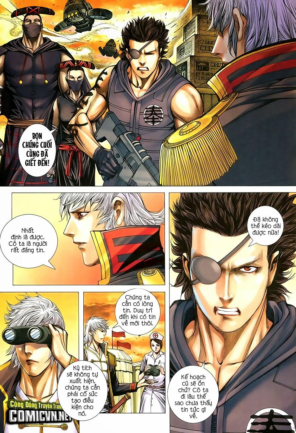 Đại Quân Phiệt chap 29 trang 10