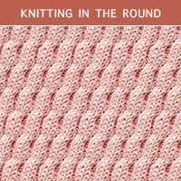 Twist Cable 29 -Knitting in the round