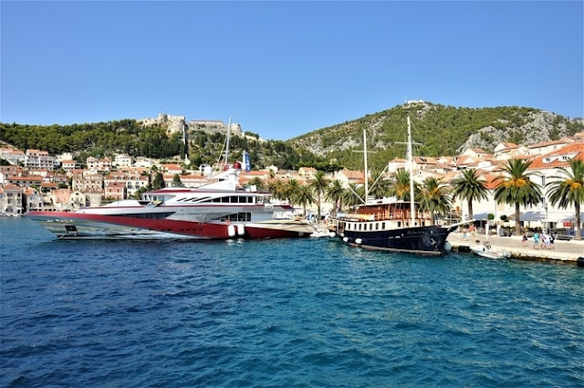 Croatian island of Hvar is renowned for its luxurious resorts