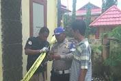 Polisi Olah TKP Kebakaran Kantor Partai Gerindra dan Posko Tim Keluarga Jokowi-Mar'uf Amin Di Selayar