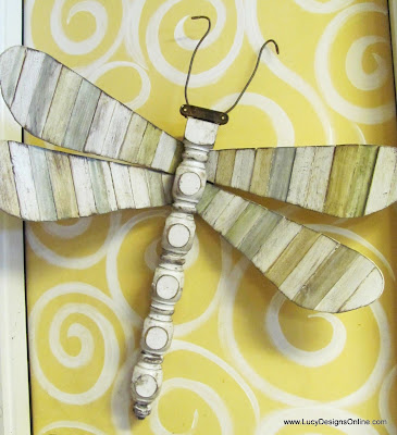 recycled dragonfly lucy designs